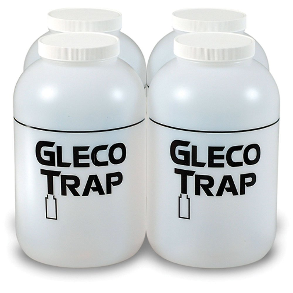 Practicon 7078717 Gallon Gleco Trap Replacement Bottles (Pack of 4)