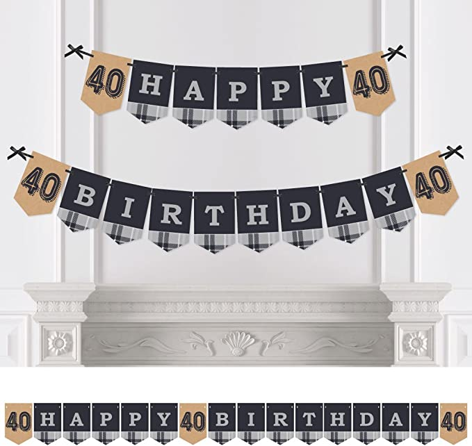 Any age Milestone Birthday Bunting Custom IridescentGarland Party Decorations21st  Birthday30th40thWall DecorationBirthday bunting