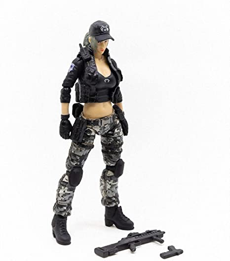 1//6 Female Soldier Bracelet Action Figure Doll Bangle Jewelry Black Agate