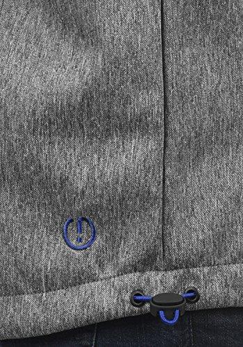 de gris Chaqueta Softshell forro de con Iacopo polar polar para 8236 hombre y mezcla p4w1465q
