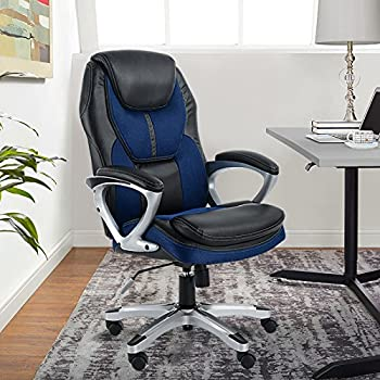 Amazon.com: Serta Works Executive Office Chair, Faux