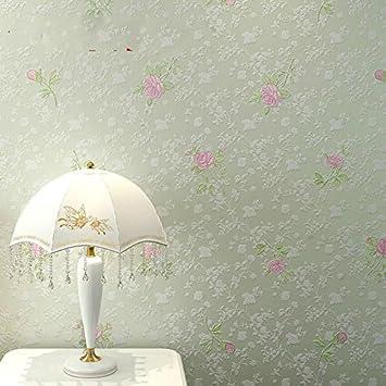 Wandtapete Rustikale Schlafzimmer Tapeten Wohnzimmer TV Hintergrund Wand Tapete Klebstoff Verklebt Tuch Grune Romantische