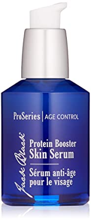 Jack Black – Protein Booster Skin Serum – Pro Series Men's Age Specialist Product, Peptides, Antioxidants And Organic Omega 3, Reduces Visible Signs Of Aging, Improves Skin Tone, 2 Oz by Jack Black