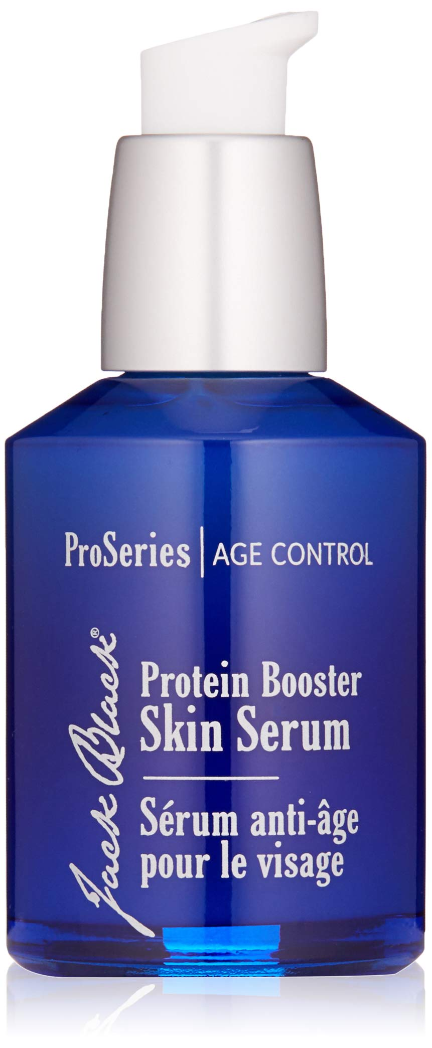 JACK BLACK – Protein Booster Skin Serum – ProSeries Men's Age Specialist Product, Peptides, Antioxidants and Organic Omega-3, Reduces Visible Signs of Aging, Improves Skin Tone, 2 oz