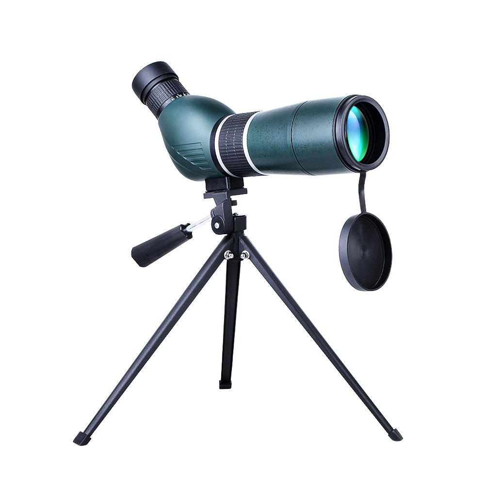 YOUNGDO Spotting Scope with Tripod, 15-45X60, BAK4 Prism Fully Multi Coated Lens for Bird Watching Telescope, Target Shooting Monocular, Outdoor Activities by YOUNGDO