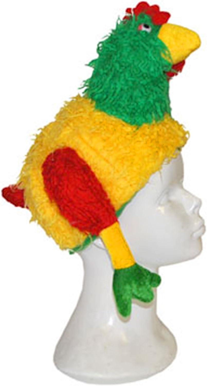 mágica Clown – Disfraz de payaso accesorios de gallina Gorro de ...