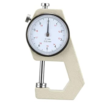 Stainless Steel Dial Thickness Gauge Accurate Precision