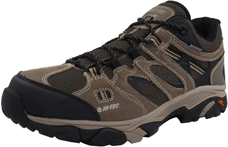 HI-TEC Men s Ravus Vent Low Waterproof Ankle-High Leather Hiking Shoe