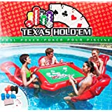 Alien Tech Inflatable Water Toys Poker Game Adult Swim Ring Mounts Inflatable Floating Bed Floating Row Toys