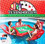 Xinxin Inflatable Water Toys Poker Game Adult Swim Ring Mounts Inflatable Floating Bed Floating Row Toys