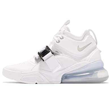 Nike Men's Air Force 270 Low Top Sneakers, White (White