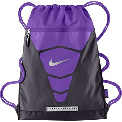 Amazon.com: New Nike Vapor Gymsack Drawstring Bag Cave Purple ...