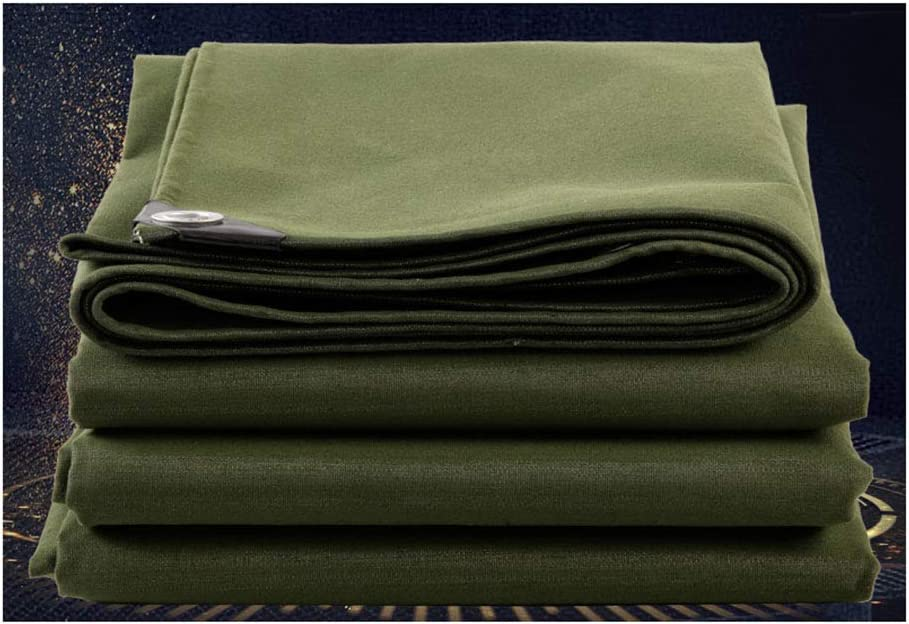 WJS Lona Impermeable Multiusos para Acampar Cultivar un huerto poliéster Resistente (Size : 2x2m)