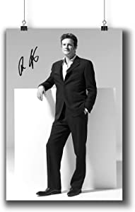 Colin Firth Actor Movie Photo Poster Prints 006-012 Reprint Signed,Wall Art Decor for Dorm Bedroom Living Room (A4|8x12inch|21x29cm)