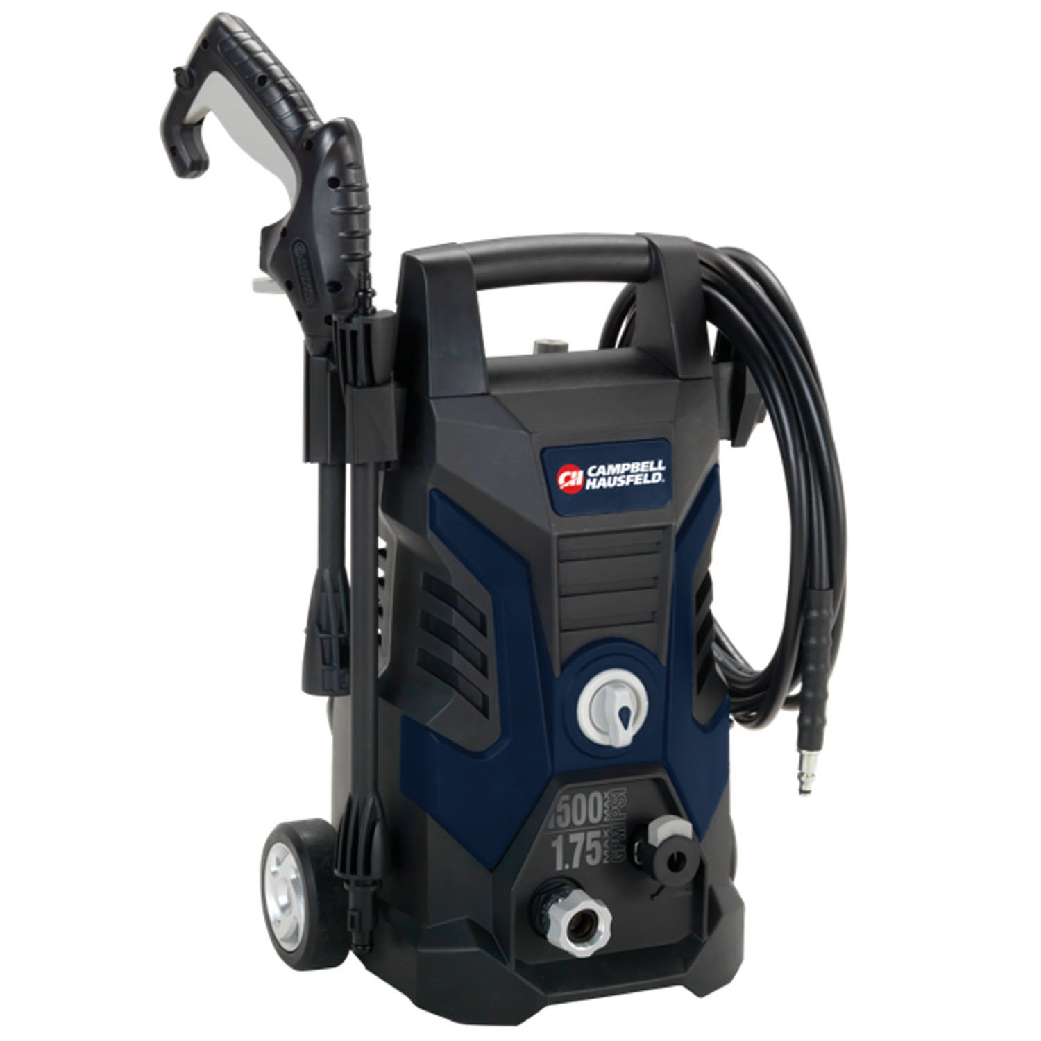 Campbell Hausfeld Pressure Washer, Electric Power Washer, 1500 Max Psi, 1.75 Max with Nozzles GPM PW150100