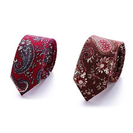 XIAXIACP Corbata de Boda, diseñador de Corbata para Hombre Versión ...