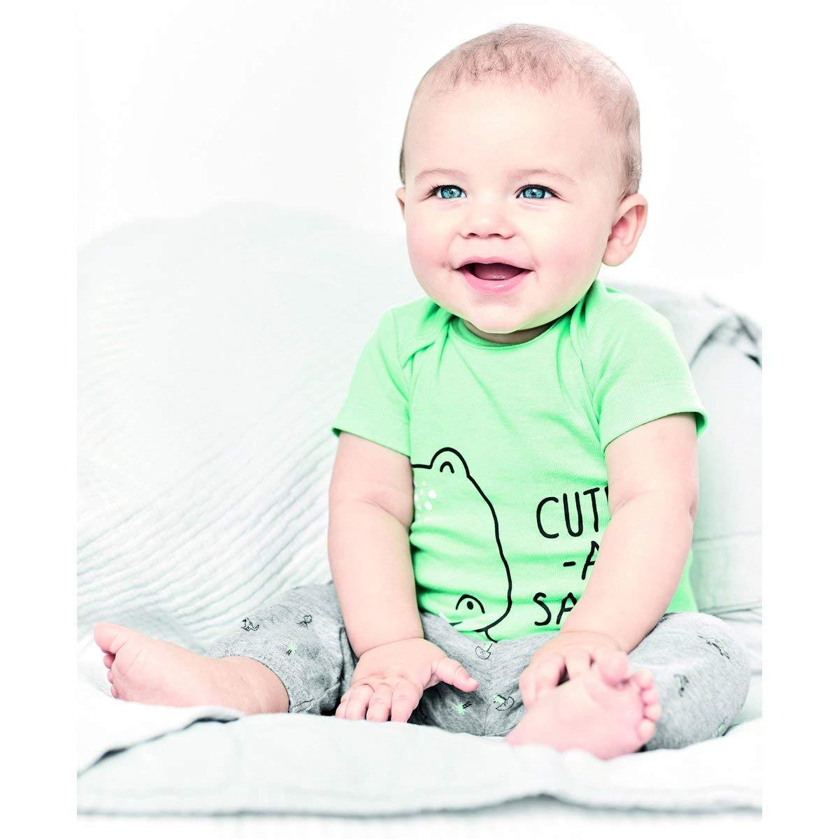 Carters Baby Boys 3 Pc Back Art 126g423