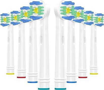 WuYan 8 cabezales de repuesto para cepillos de dientes Oral B ...