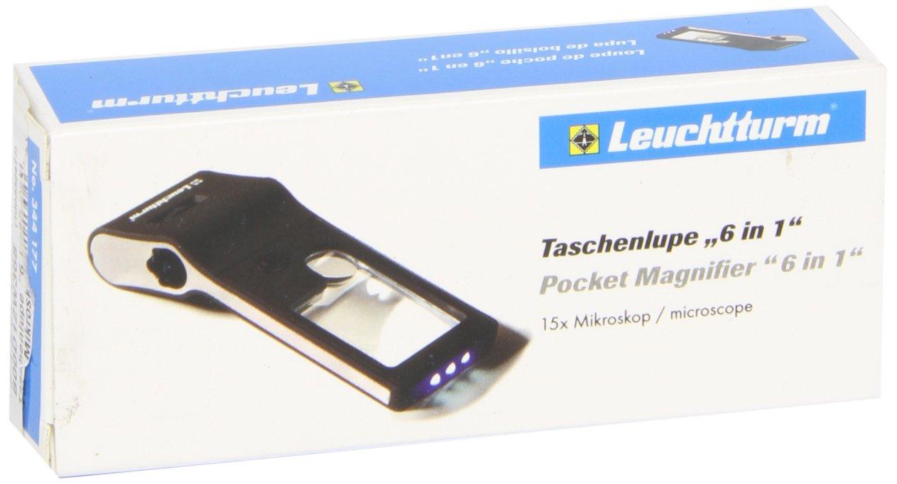 Taschenlupe 6 in 1, inkl. LED-Mikroskop (+50-Fach), mit Beleuchtung (Allemand) Cuisine – mai 2014 Leuchtturm Albenverlag B00D12W368 344177 Sammlerkataloge