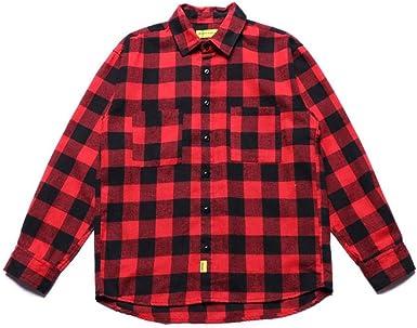 WENHUI Camisas De Los Hombres De Utillaje Camisas Sport De ...