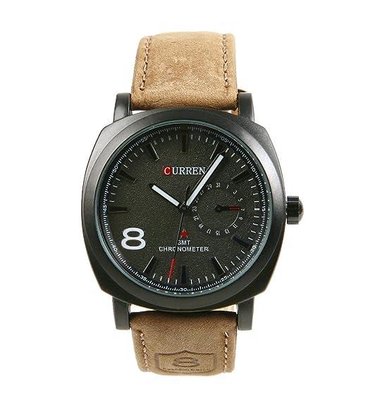 Ama-ZODE Ama-ZODE - Reloj para hombres color marrón