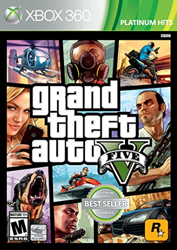 Grand Theft Auto V - Xbox 360 (Best Xbox 360 Games)