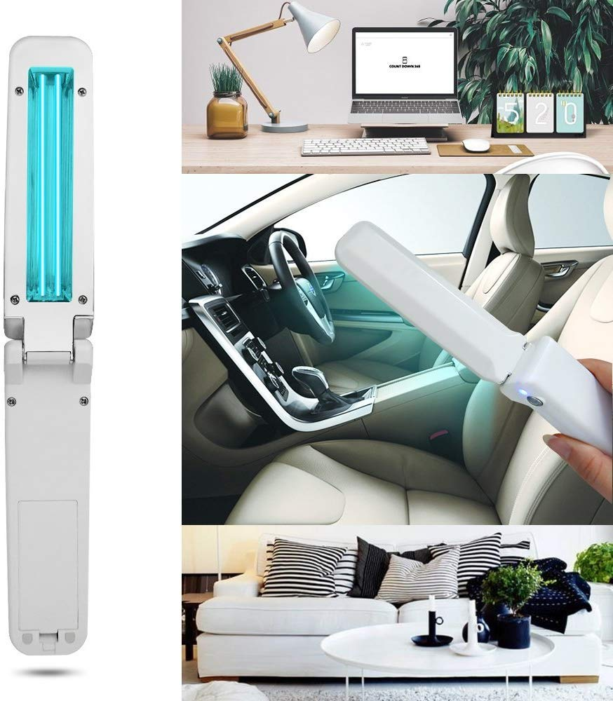 Office Stylish And Beautiful Shape Design Handheld Uv Disinfection Lamp Travel Suitable For Home Ultra-Uv Uv Germicidal Lamp Business Trip
