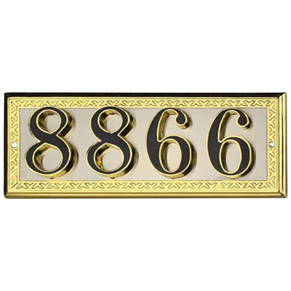 Excellent Aspire Customized Metal Address Plaque Sign Hotel House Office Apartment Digital Signs Personalized House Number Or Mailbox Sign Small Size C Download Free Architecture Designs Intelgarnamadebymaigaardcom
