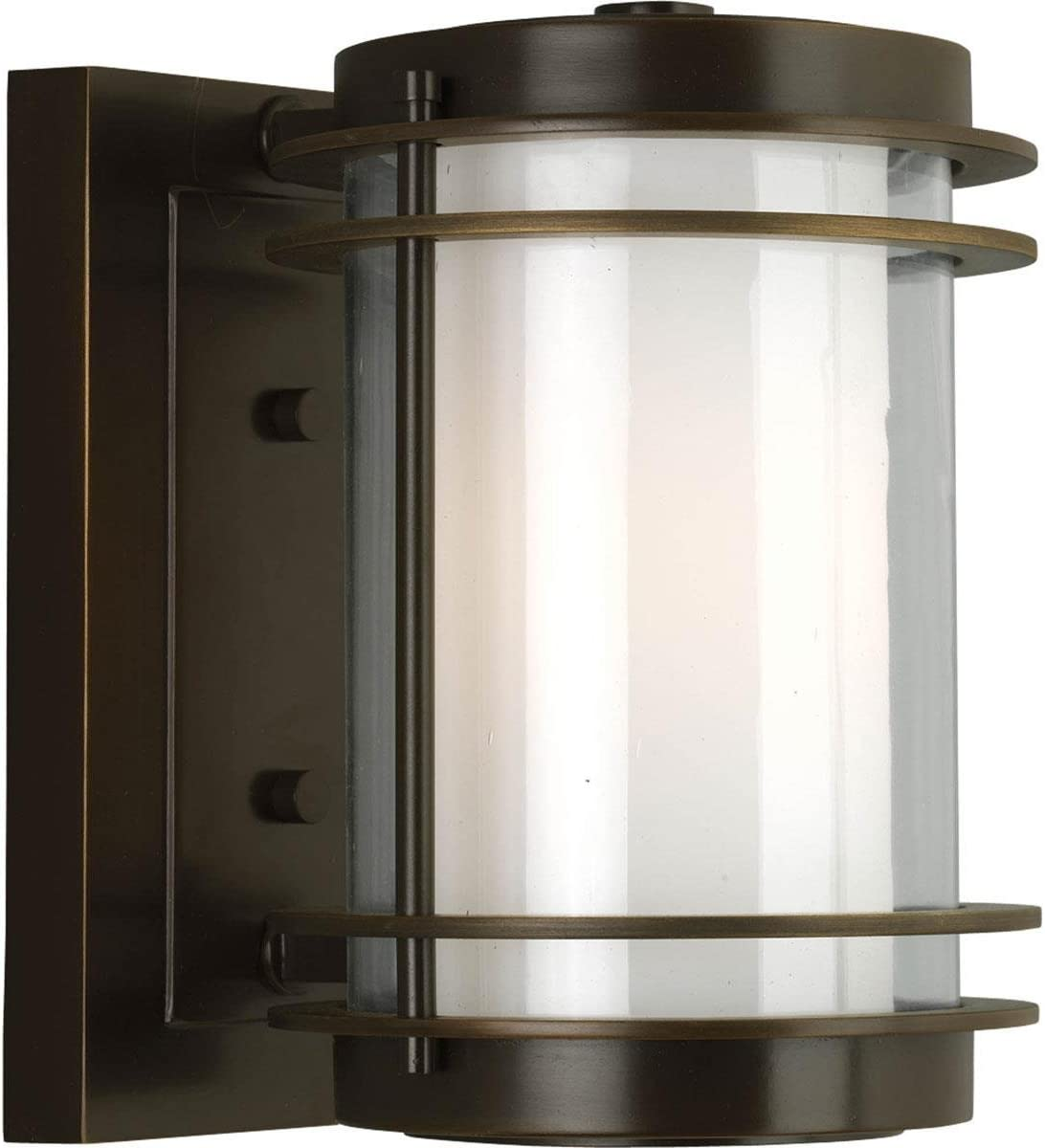 Penfield Outdoor Wall Sconce in Oil Rubbed Bronze Size Small