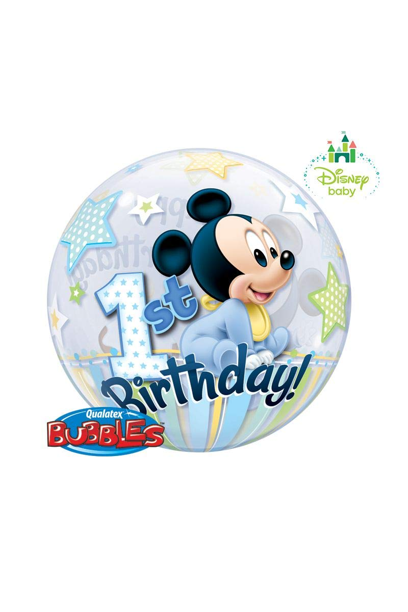 Disney Mickey Mouse Baby Sterne Luft Latex Ballons 27.9cm Qualatex Helium