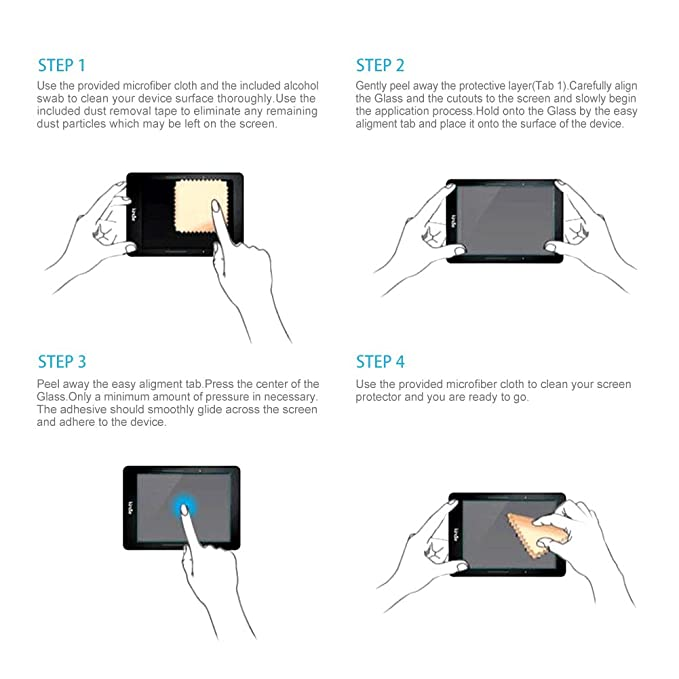 Ayotu Kindle Matte 2-PACK 2012/2013/2014/2015 version Anti-Glare Screen Protector,Premium 9H Hardness Tempered Glass Film with for  Kindle Paperwhite Crystal Clear Scratch-Resistant Bubble Free