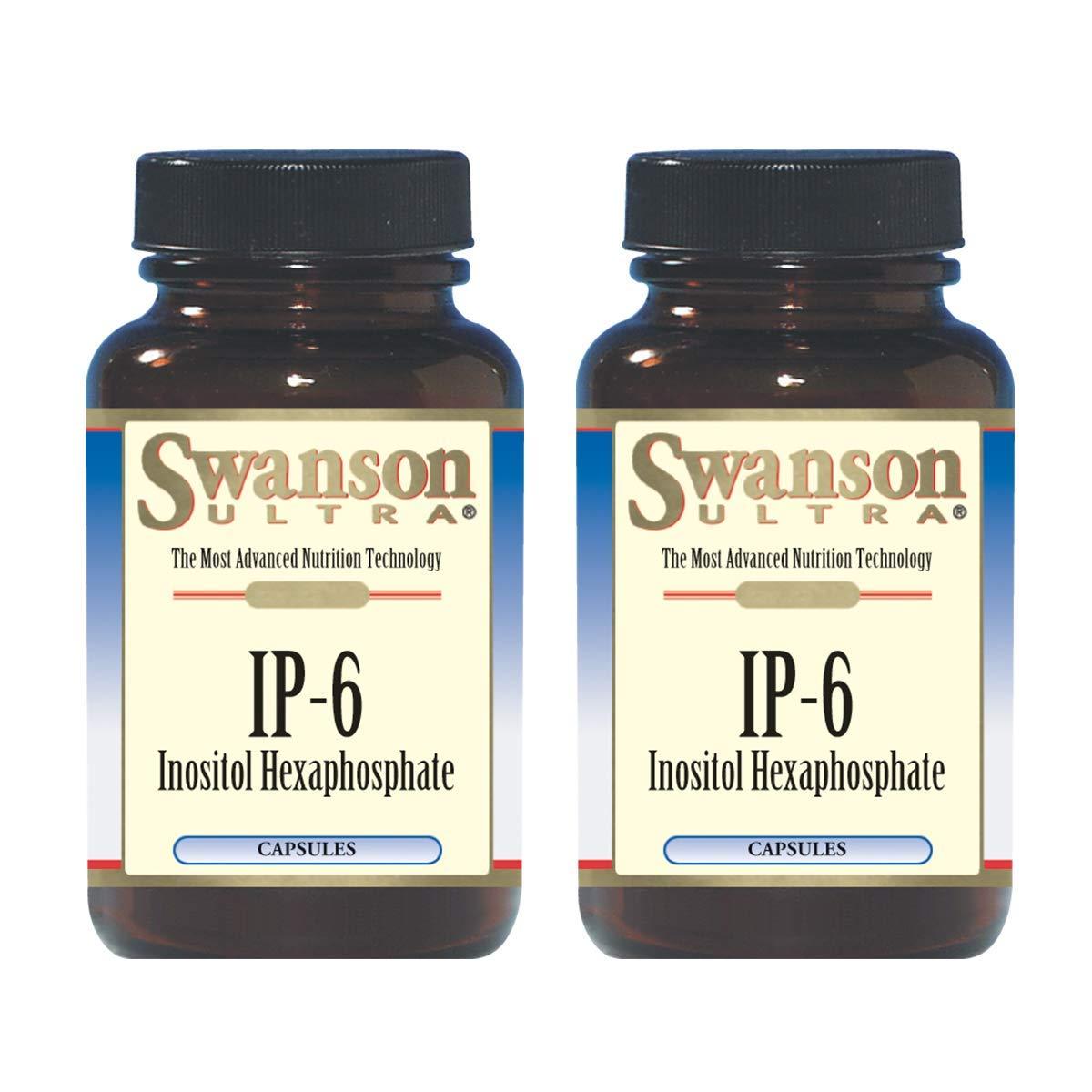 Swanson IP-6 Inositol Hexaphosphate 240 Capsules (2 Pack) by Swanson