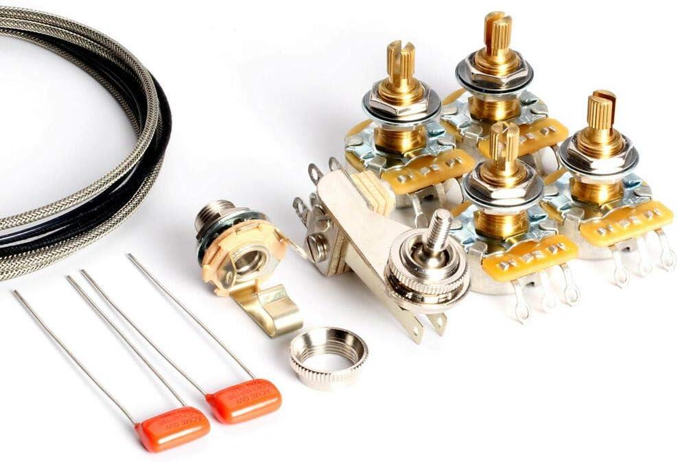 fender wiring gibson vintage diagram circuit amazon com wiring kit gibson sg standard  vintage wiring home  amazon com wiring kit gibson sg
