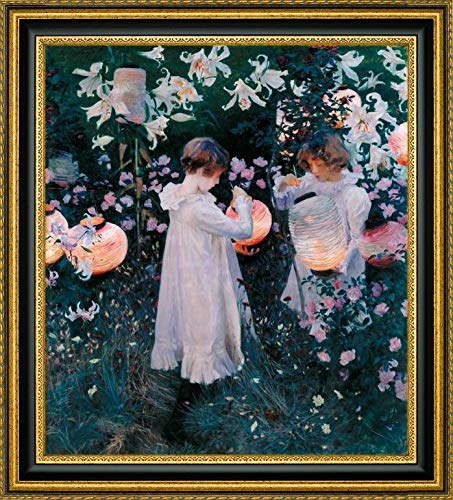 Carnation, Lily, Lily, Rose, 1885 by John Singer Sargent - 25.25