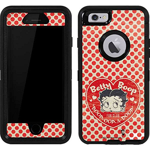 - Betty Boop OtterBox Defender iPhone 6 Skin - Betty Boop Red Heart