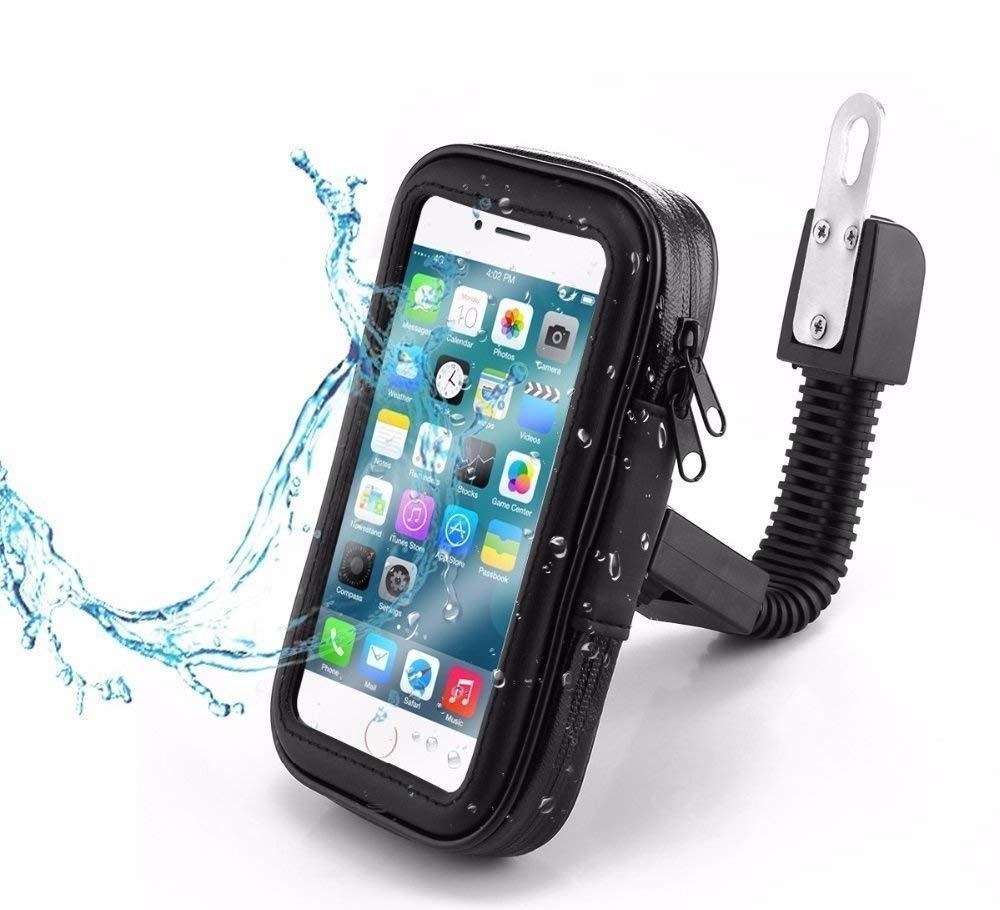 GPS Funda Tel/éfono M/óvil Smartphone para Moto Scooter para El Espejo Partner Tele Samsung Galaxy Note 3//4//5//S8//S8+//S9//S9+ Negro Huawei Mate 9//P10 Plus Compatible con iPhone 6 Plus//7 Plus