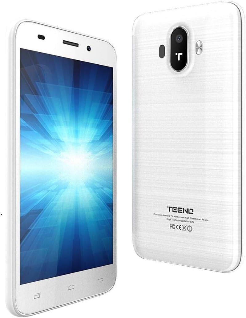 TEENO - Smartphone Libre de 5,0 Pulgadas HD Android Quad-Core Dual ...