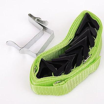 40ef073e3e9bf tmalltide ajustable sobre la puerta Correas percha de ropa Sombrero Ropa  Escudo Bolsa rack Organizador Bolsos