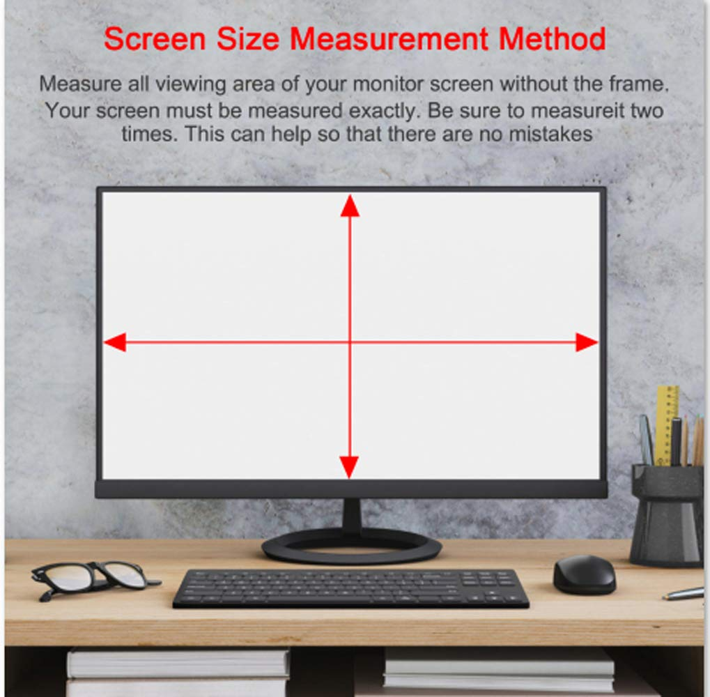 Magicmoon Privacy Filter Screen Protector, Anti-Spy&Glare Film for 23 inch Widescreen Computer Monitor (23'', 16:9 Aspect Ratio) by Magicmoon (Image #8)