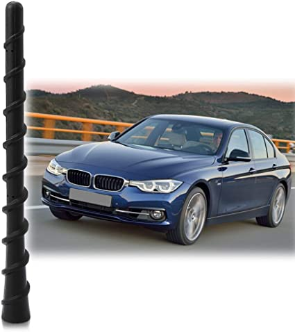 Antenna Mast Perfect Replacement Screw Thread Antenna Fit BMW 3 Series M240I Convertible 128I Z3 Z4 Short Antenna Accessories Thie2e