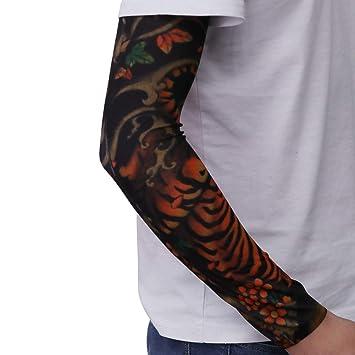 LIOOBO - Mangas de Tatuaje con protección UV para Hombre y Mujer ...