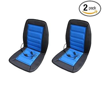 Amazon.com: ABN - Cojín calefactor para asiento de coche, 2 ...