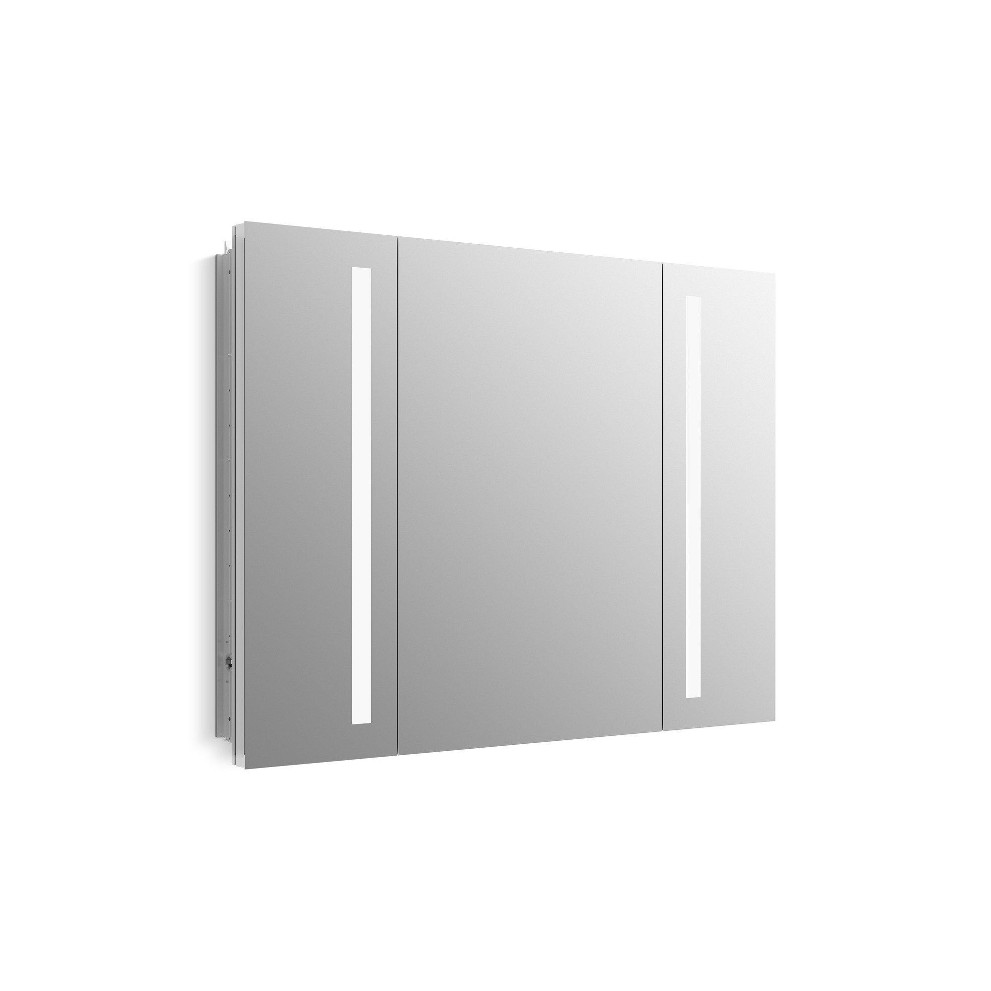 KOHLER 99011-TL-NA Verdera Lighted Medicine Cabinet, Aluminum, 40''x30''