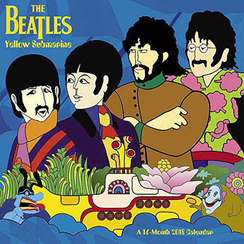 2018 Beatles Yellow Submarine Wall Calendar (Day Dream)