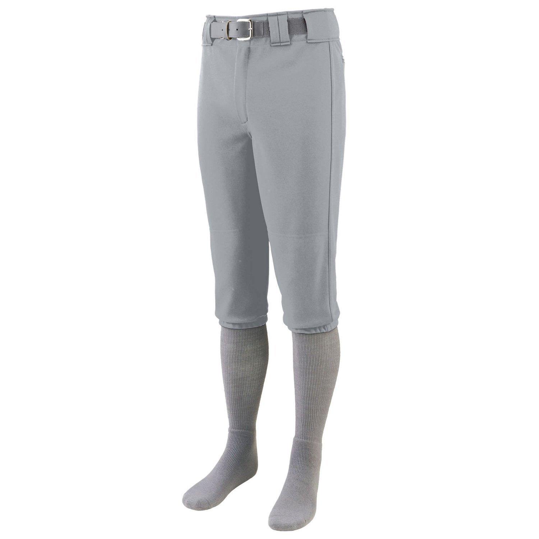 Augusta Sportswear Boys 'シリーズ膝長野球パンツ B015JNSHB6 M|シルバーグレー シルバーグレー M