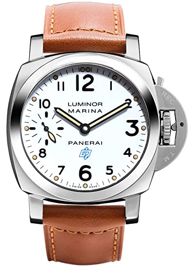 Panerai Luminor Marina Logo Acciaio – 44 mm reloj para hombre pam00660