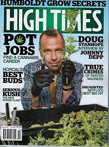 High Times Magazine (October, 2017) Doug Stanhope Cover