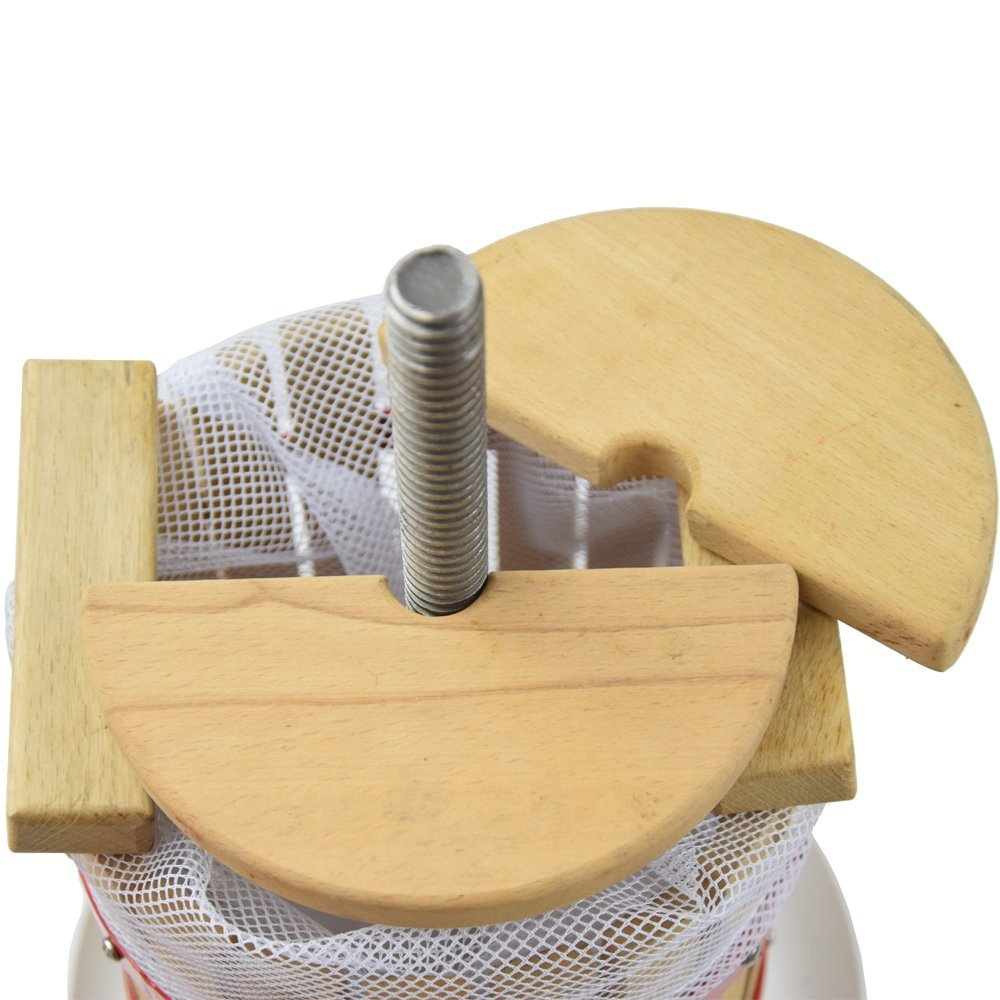 Fruit Wine Press 3.2 Gallon Solid Wood Basket Cider Press by EJWOX (Image #4)