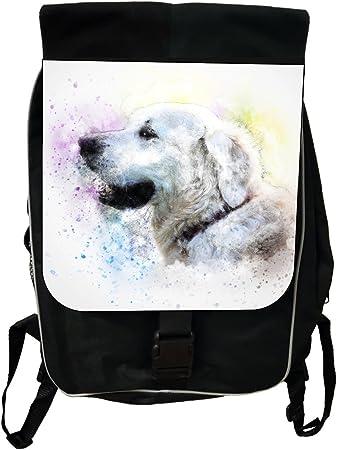 Golden Retriever Puppies Kids Adjustable Strap Backpack
