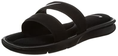 factory price 2355d 73c92 NIKE Women s Ultra Comfort Slide Sandal, Black White Black, 5 B(